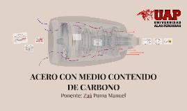 ACERO CON MEDIO CONTENIDO DE CARBONO