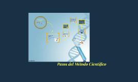 Pasos del Método Científico.