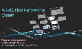 Waves Fleet Performance System
