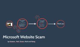 Microsoft Website Scam