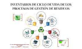 inventarios de ciclo de vida de los procesos de gestión de r