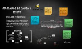 diagramas de causa y efecto