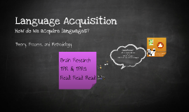 2015 Language Acquisition
