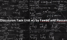 Discussion Task By: Fawad and Hassan