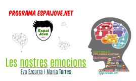 FAMíLIES. LES NOSTRES EMOCIONS 2016-2017