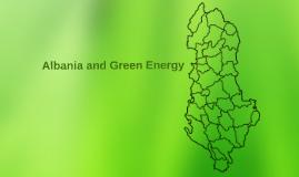 Albania and Green Energy