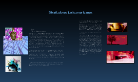 Diseñadores Latinoamericanos