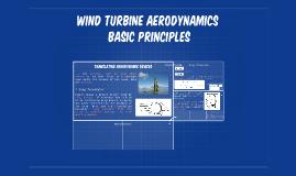 Wind Turbine Aerodynamics