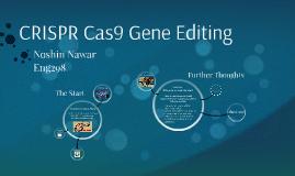 CRISPR Cas9 Gene Editing