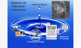 Impacts of Liberalism