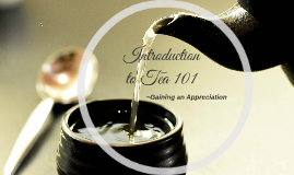 Introduction to Tea 101