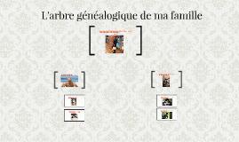 L'arbre généalogique de ma famille