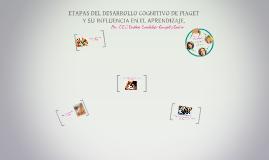 ETAPAS DEL DESARROLLO COGNITIVO DE PIAGET Y SU INFLUENCIA EN