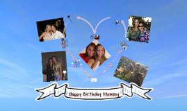 Happy Birthday Marthica
