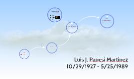 Luis J. Panesi Martinez