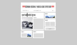 ECONOMIA REGIONAL Y MODELO AGRO EXPORTADOR