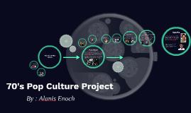 70's & 80's Pop Culture Project