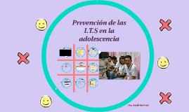 Prevencion de las I.T.S en la adolescencia
