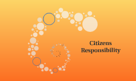 Citizens Responsibility