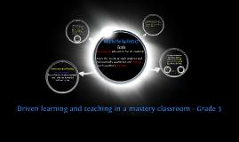 Mastery Class