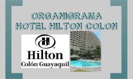Copy of Copy of ORGANIGRAMA HOTEL HILTON COLON