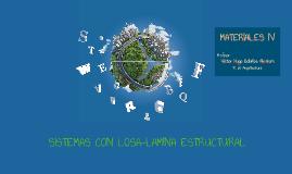 SISTEMAS CON LOSA-LAMINA ESTRUCTURAL