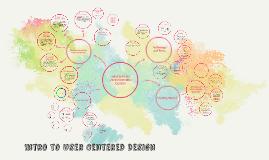 User Centered Design Spring 2018