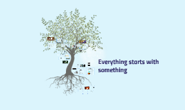 Everything starts with something.