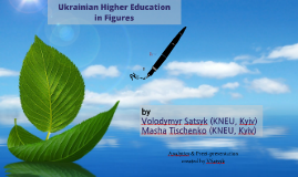 Ukrainian Higher Education in Figures