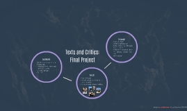 Texts and Critics: Project 4