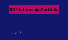 AOF Internship Portfolio