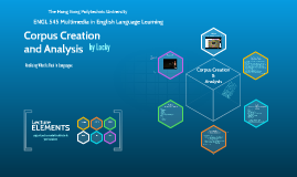 Corpus Creation And Analysis