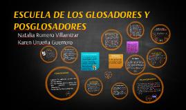 Copy of Escuela de los glosadores y posglosadores