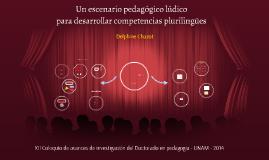 Copy of Un escenario pedagogico ludico