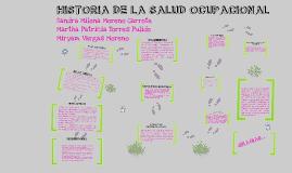 HISTORIA DE LA SALUD OCUPACIONAL