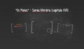 """Os Maias"" - Sarau literário (capítulo XVI)"