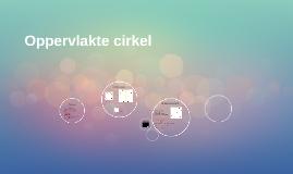 Oppervlakte cirkel