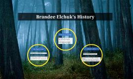 Brandee Elchuk's History yo.