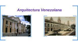 Arquitectura Venezolana