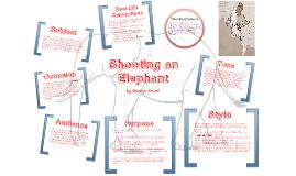 shooting an elephant thesis sentence