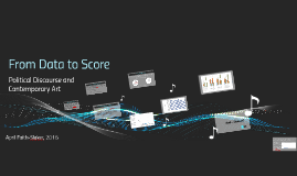 Copy of From Data to Score