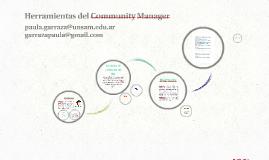 Herramientas del Community Manager