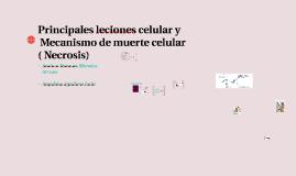 Principales leciones celular.