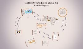 matematicas siglo XX