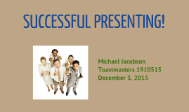 Successful Presenting