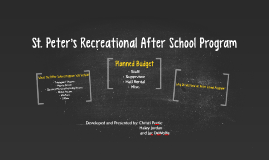St. Peters Recreational After School Program