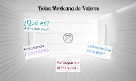 Copy of La Bolsa Mexicana de Valores