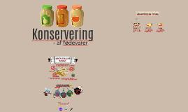Konservering