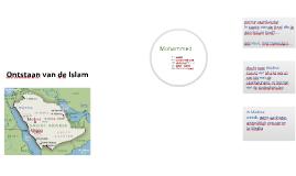 ontstaan van de islam