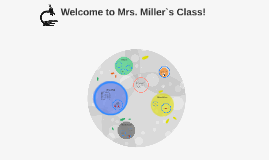 Welcome to Mrs. Miller`s Class!